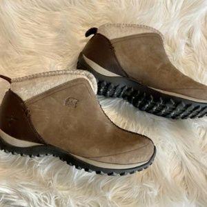 Sorel Joliette Women's Brown Ankle Boots 7.5